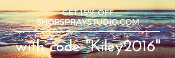 Get 15% Off SHOPSPRAYSTUDIO.COM